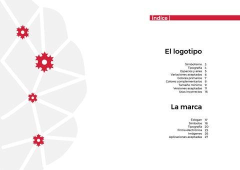 Page 2 of Manual de identidad corporativa