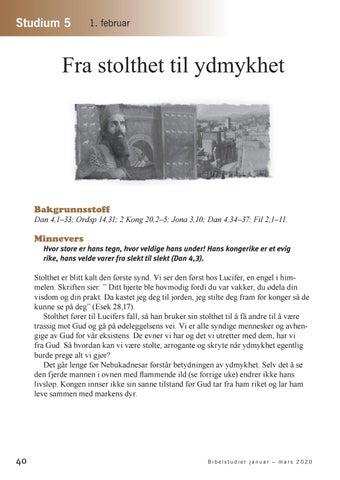Page 41 of Fra stolthet til ydmykhet