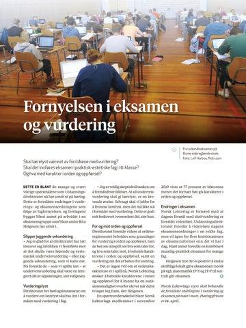Page 11 of Eksamen og vurdering