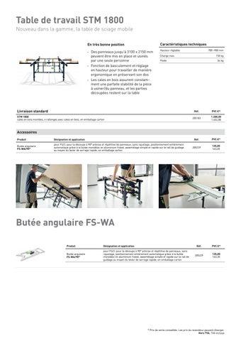 Page 28 of La table de sciage mobile STM 1800