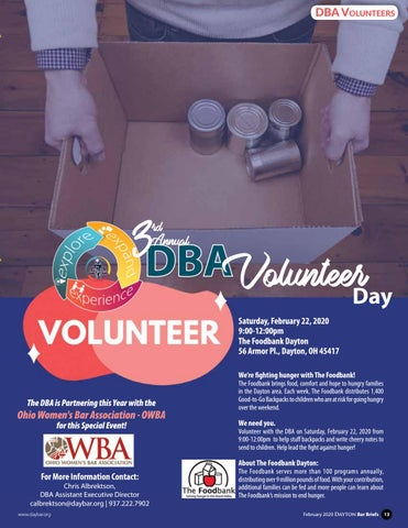 Page 13 of 3 RD ANNUAL VOLUNTEER DAY