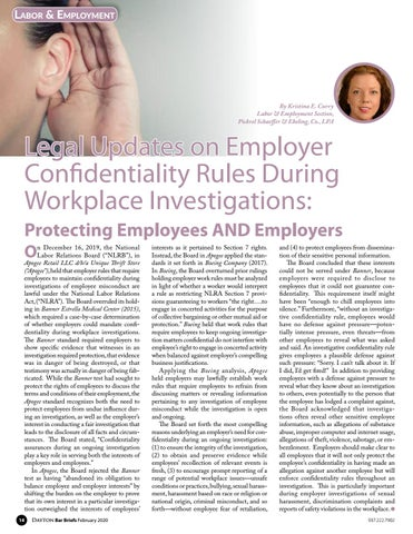 Page 14 of LABOR AND EMPLOYMENT