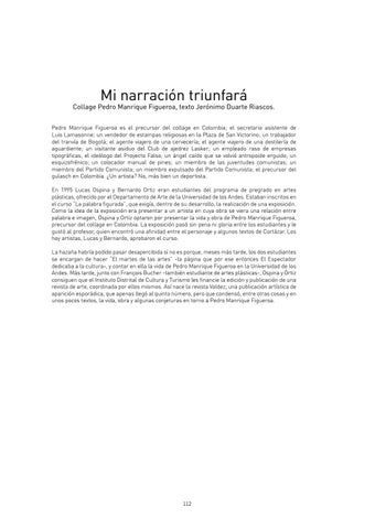 Page 112 of Mi narración triunfará
