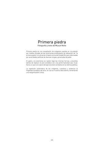 Page 121 of Primera Piedra