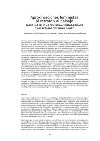 Page 43 of Aproximaciones femnistas al retrato y al paisaje