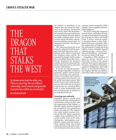 Page 16 of THE DRAGON THAT STALKS THE WEST