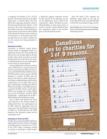 Page 13 of The Mathematics Of Charitable Giving