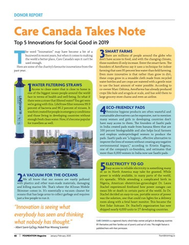 Page 40 of Care Canada Takes Note