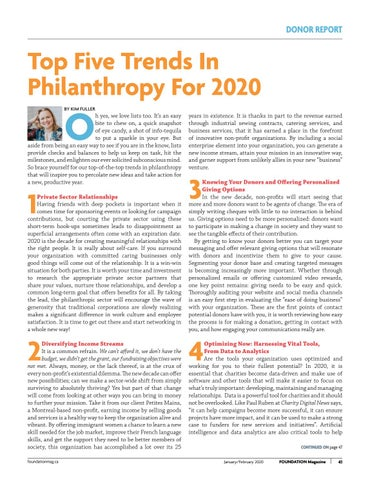 Page 41 of Top Five Trends In Philanthropy For 2020