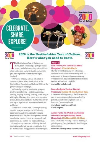 Page 26 of Hertfordshire Year of Culture