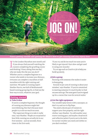 Page 28 of A guide to running for all levels