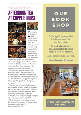 Page 35 of Our review of Afternoon Tea at Copper House