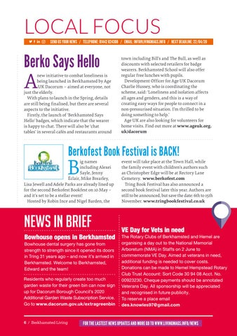 Page 6 of News and views from Berkhamsted and surrounding villages