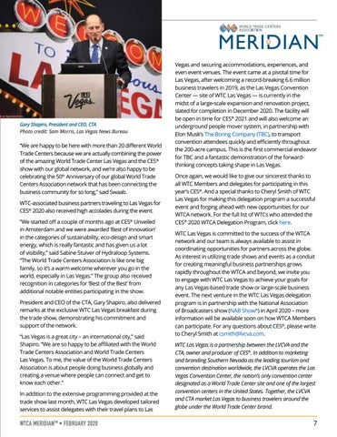 Page 7 of WTC Las Vegas Marks 10-Year Anniversary With Successful CES 2020 Delegation Program