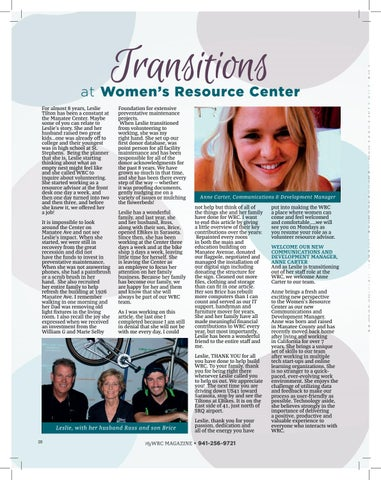 Page 20 of Transitions at WRC