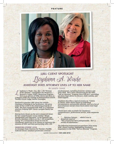 Page 4 of J. Jill's Woman of the Quarter: Meet