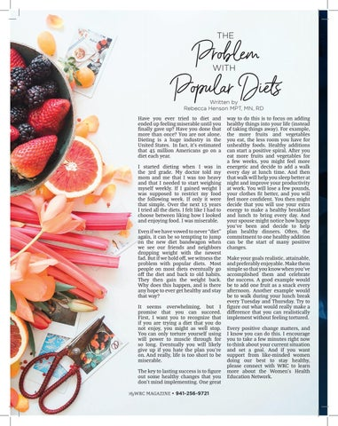 Page 6 of The Problem with Popular Diets