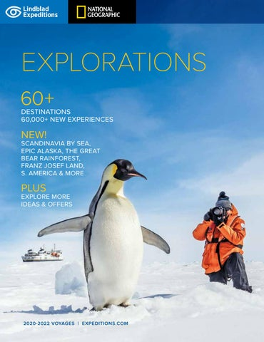Explorations 2020 22 by Lindblad Expeditions   issuu