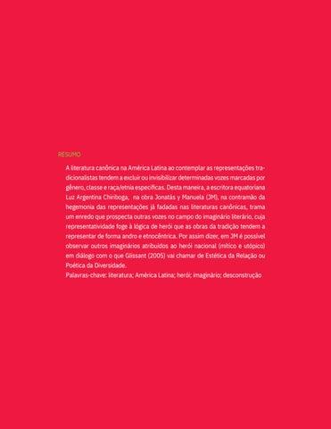 Page 12 of JONATÁS E A (DES)MESTIFICAÇÃO DO HERÓI LATINO-AMERICANO Fabiana da Silva Campos dos Santos
