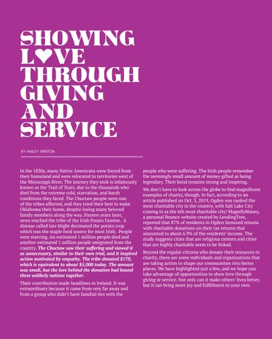 Page 24 of Showing Love through Giving and Service