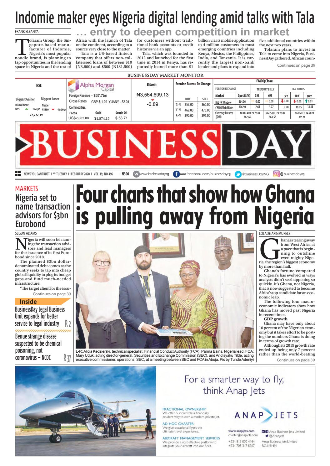 Businessday 11 Feb 2020 By Businessday Issuu
