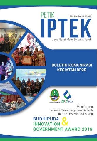Buletin Petik Iptek Bp2d Provinsi Jawa Barat Tahun 2019 By Badan Penelitian Dan Pengembangan Daerah Provinsi Jawa Barat Issuu