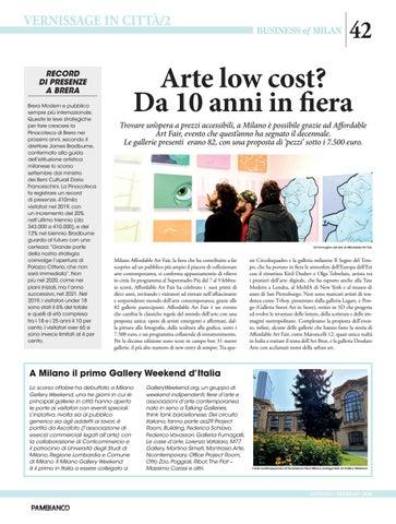 Page 42 of Arte low cost? Da dieci anni in fiera