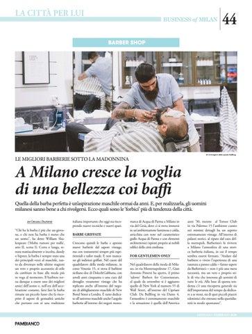 Page 44 of Le migliori barberie sotto la Madonnina