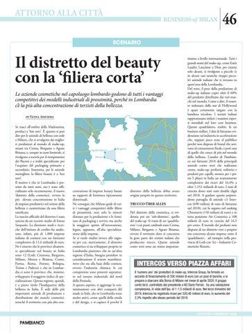 Page 46 of Il distretto del beauty con la 'filiera corta