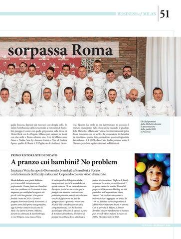 Page 51 of Stelle Michelin, Milano sorpassa Roma