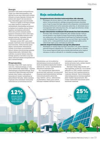 Page 23 of Roheliseks muutuv Euroopa