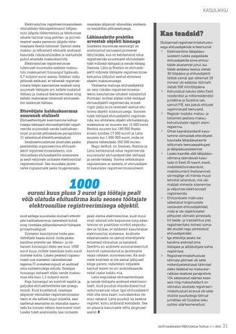 Page 31 of Töötajate reaalajas jälgimine toob ehitusfirmadele tööd juurde