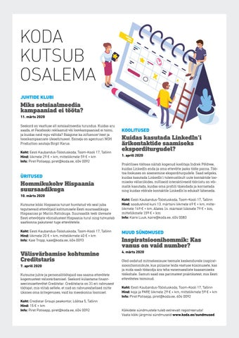 Page 34 of Koda kutsub osalema
