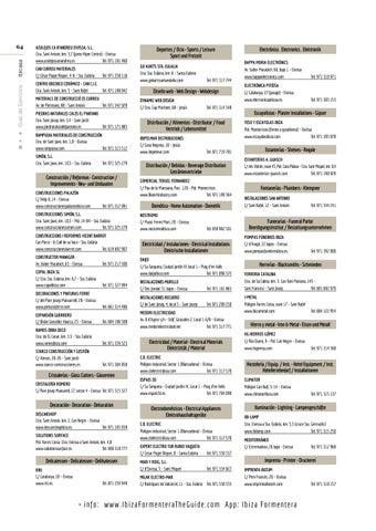 Page 64 of Guía de Servicios