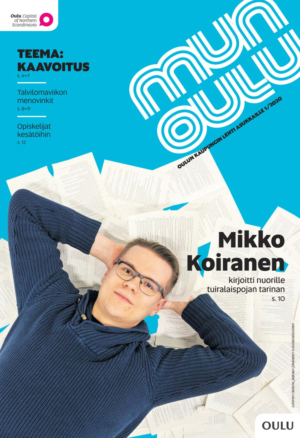 Mun Oulu 1 2020 By Oulun Kaupunki Issuu