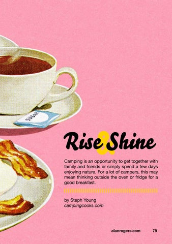 Page 81 of Rise & Shine: a guide to camping breakfasts