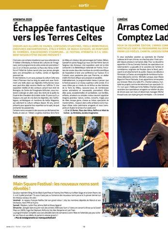 Page 18 of Atrebatia 2020 / Arras Comedy