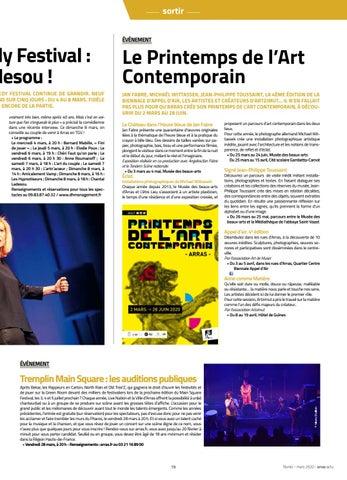 Page 19 of Atrebatia 2020 / Arras Comedy