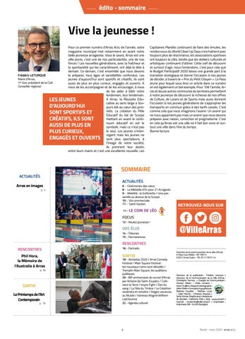 Page 3 of février - mars 2020 - arras actu