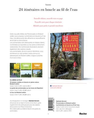 Page 13 of Promenades en Brabant wallon. 24 itinéraires en boucle au fil de l'eau