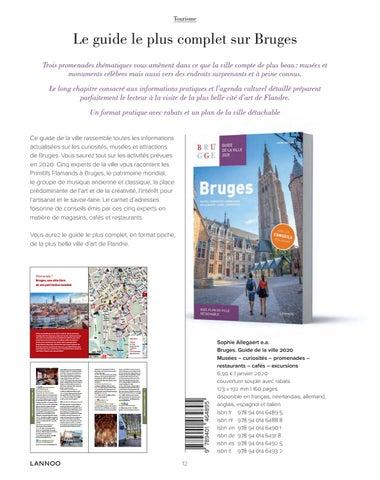 Page 14 of Bruges. Guide de la ville 2020