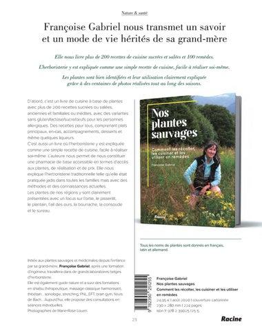 Page 25 of Nos plantes sauvages. Comment les récolter, les cuisiner et les utiliser en remèdes