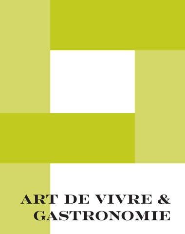 Page 5 of Art de vivre & Gastronomie
