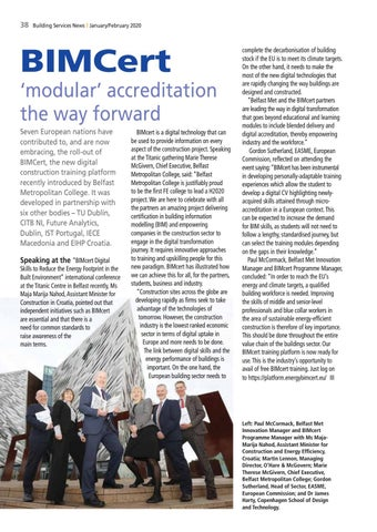 Page 40 of BIMCert accreditation