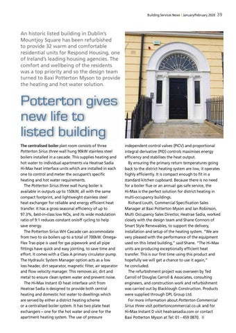 Page 41 of Potterton gives new life