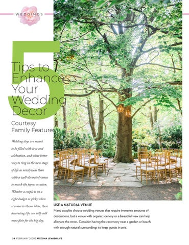 Page 24 of 5 tips to enhance your wedding décor