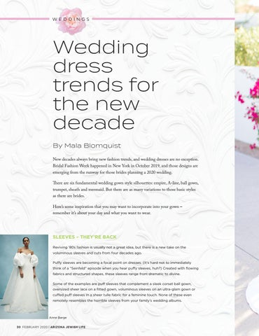 Page 30 of Wedding dress trends for the new decade