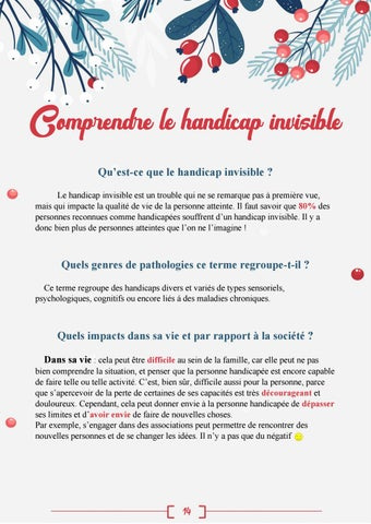Page 16 of Le handicap invisible