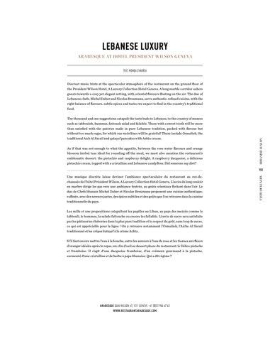 Page 151 of LEBANESE LUXURY