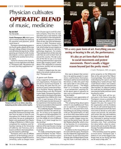 Page 10 of Physician cultivates OPERATIC BLEND of music, medicine